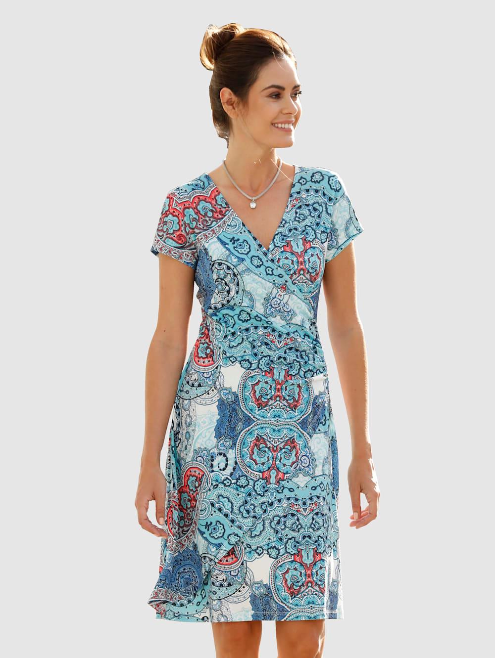 dress in kleid in wickeloptik   klingel
