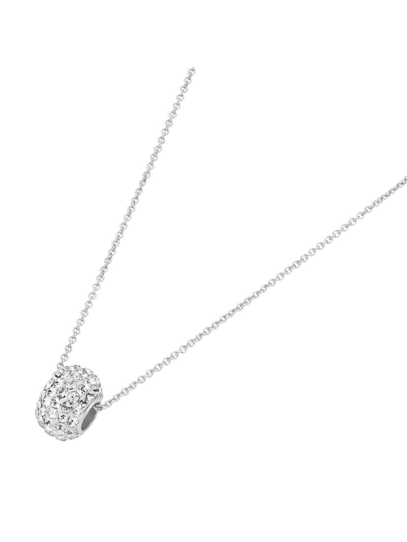 Smart Jewel Kette Rondell, mit Swarovski Steinen, Silber 925 | Klingel