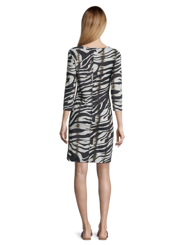 Cartoon Casual-Kleid ohne Arm  Alba Moda