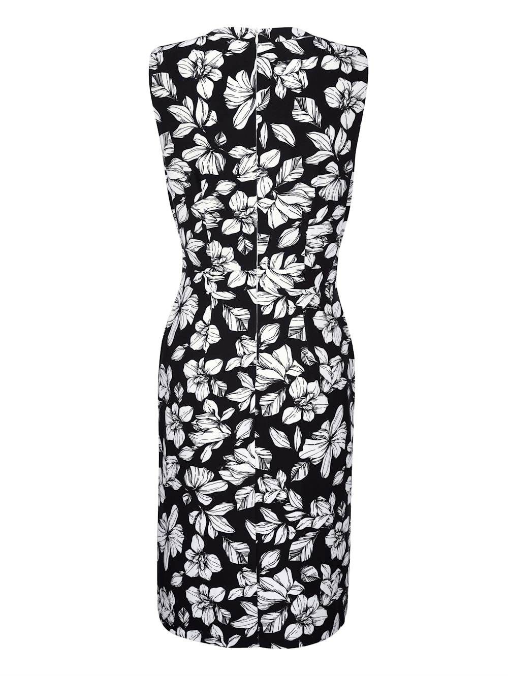 alba moda kleid im floralen dessin allover | alba moda