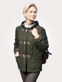 Jacke aus wärmender Schurwolle