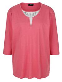 Shirt in trendy 2-in-1-look