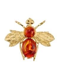 Bienen-Brosche