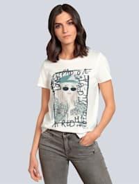 Shirt mit dekorativem Motiv