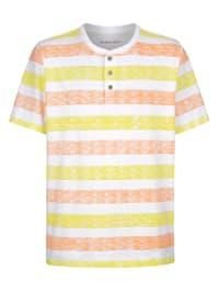 Henley tričko z čistej bavlny