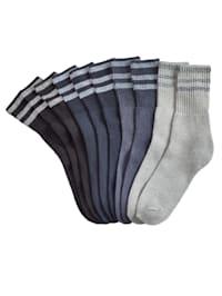Tennissocken in Unisex, für Sie und Ihn auch in Übergröße