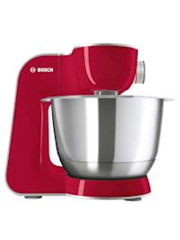 Robot pâtissier Bosch MUM58720, rouge profond/gris argenté