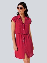 Šaty v jemně padavé šifónové kvalitě