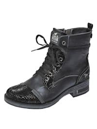 Šnurovacia obuv s komfortným obúvaním