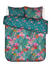 2-delige set bedlinnen Flower Power