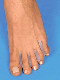Siliconen tenenspreiders 16 stuks
