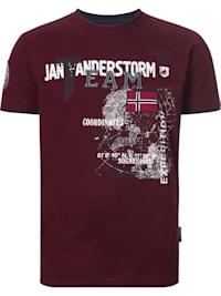 Jan Vanderstorm T-Shirt SÖLVE