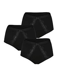 Taillenslips im 3er-Pack mit Bauchweg-Funktion