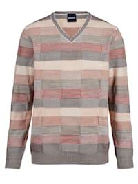 Pullover mit Struktur-Strick