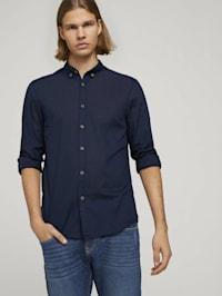 Leichtes Hemd mit Muster