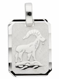 Damen & Herren Silberschmuck 925 Silber Sternzeichen Anhänger Steinbock