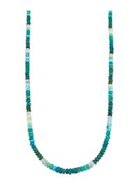 Ketting met opaal (beh.)