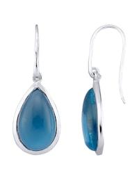 Boucles d'oreilles à cabochons de quartz