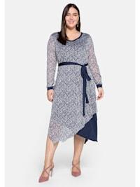 Kleid im Lagenlook, mit Zipfelsaum