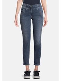 Slim Fit-Hose mit Taschen