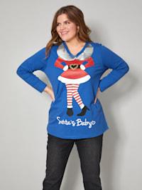 Sweatshirt mit Elfen-Motiv
