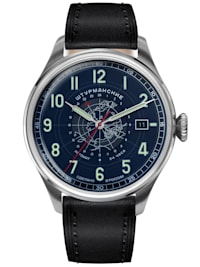 Herren-Armbanduhr Heritage Arctic Automatik 24h Blau