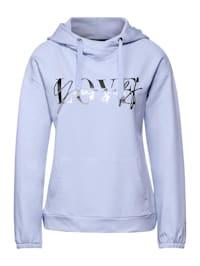 Sweatshirt im Hoodie Style