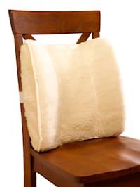 Coussin dorsal en laine vierge
