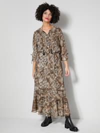 Šaty so zvieracou potlačou