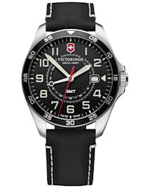 Herren-Armbanduhr FieldForce GMT schwarz