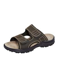 Nazouvací obuv z měkké nubukové kůže