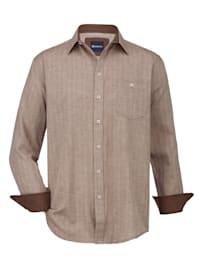 Flanelová košile s kašmírem