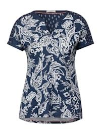 T-Shirt im Tunika Style