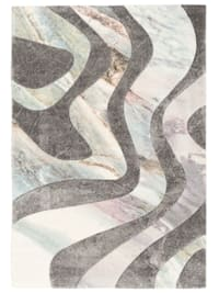 Designer Teppich Maui Pastell Wellen