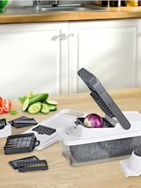 Coupe-légumes multifonction 'Dicer Plus', 16 pièces