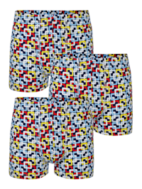 Boxerkalsonger i 3-pack