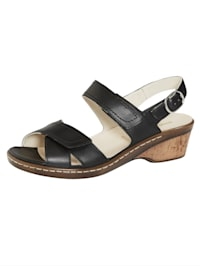 Sandaaltje met verstelbaar hielbandje