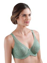 Kaarituelliset rintaliivit – kupeissa tukea antavat sivutuet