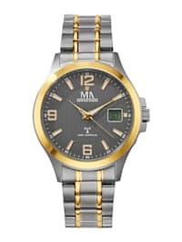 Pánské hodinky s titanovým pouzdrem a řemínkem