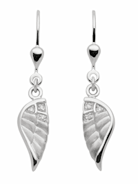 1001 Diamonds Damen Silberschmuck 925 Silber Ohrringe / Ohrhänger mit Zirkonia