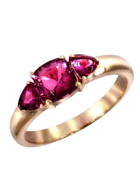 Ring 750/- Gold Turmalin pink Glänzend 1,35ct. 750/- Gold
