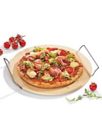 Pizzastein mit Gestell