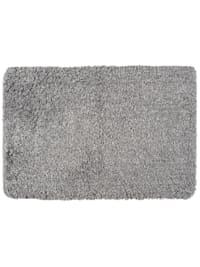 Badteppich Mélange Light Grey, 60 x 90 cm, Mikrofaser