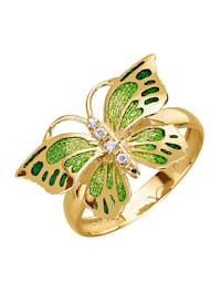 Schmetterling-Ring