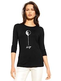 Shirt met ballonmotief