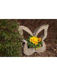Pflanzgefäß Borke Schmetterling