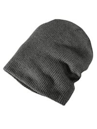 Pletená čepice v Oversize střihu