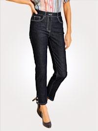 7/8-Jeans in sportiver Optik