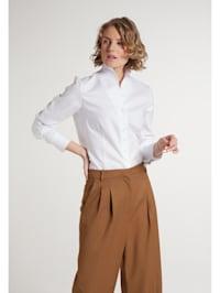 Langarm Bluse MODERN CLASSIC strukturiert