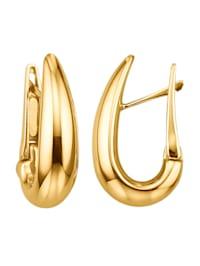 Kultakorvakorut 750-keltakultaa